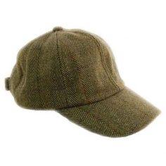 7515757e69b60 Game Fife Children s Tweed Baseball Cap Outdoor Wear