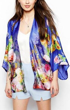 floral kimono loveliness
