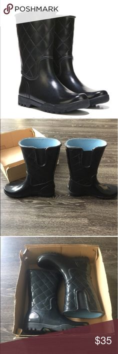 """SPERRY TOP-SIDER !!! Women's Nellie rain boot ☔️ Brand new, never worn Sperry rain boot waterproof rubber upper. Inner elastic gore, 11"""" shaft. Fabric lining, cushioned insole. Rubber traction outside. Sperry Top-Sider Shoes Winter & Rain Boots"""