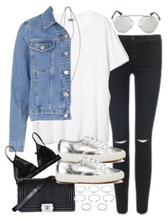 """Untitled #3203"" by hellomissapple on Polyvore featuring Topshop, Superga, Givenchy, Chanel, Forever 21 and Christian Dior"