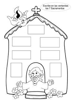 Resultado de imagen para actividades sobre el bautismo para niños