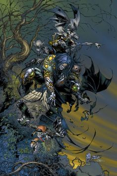 The Darkness #1/2 - Comic Art Work By Marc Silvestri - #comics, #comicart, #marcsilvestri, #silvestri
