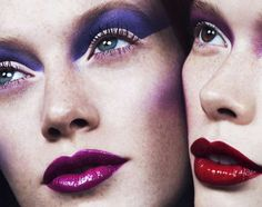 Exclusive Cosmetic Editorials - The French Revue De Modes Double Face Photoshoot Features Make Up (GALLERY)