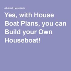 1000 Ideas About Build Your Own Boat On Pinterest