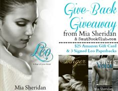Give Back Giveaway from Mia Sheridan