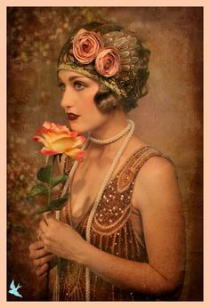 Flapper pinned with Bazaart