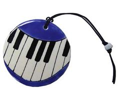 Piano Keys Ornament - If you need a cool gift for your keyboard player, this would look great on their Christmas tree. Holiday decor ideas for musicians. Piano Gifts, Music Gifts, Any Music, Good Music, Cool Gifts, Unique Gifts, Art Decor, Decor Ideas, Piano Keys