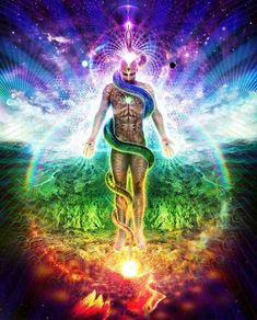 FCGCT Commentary: We are moving from reminding, to reHearting. Remembrance of the ancient wisdom of the Heart. The Evolving Human ~ Changes in DNA of the(. Psychedelic Art, Chakra Art, Esoteric Art, Meditation Art, Psy Art, Visionary Art, Art Graphique, Fantastic Art, Celestial