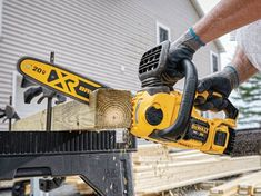 DEWALT Chainsaw 20V DCCS620P1 Review - Tool Nerds Top Handle Chainsaw, Best Chainsaw, Battery Powered Chainsaw, Chainsaw Reviews, Chainsaws For Sale, Cordless Chainsaw, Battery Tools, Electric Chainsaw, Tree Saw