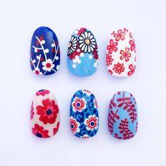 Cute Nail Art, Cute Nails, Pretty Nails, 3d Nails, Colorful Nail Designs, Gel Nail Designs, Acrylic Nail Art, Gel Nail Art, Tribal Nails