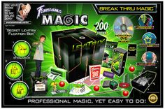 Fantasma Break Thru Magic Set This amazing set has everything you could possibly need to become a wonderful magician. All you need to provide is the sense of adventure and the sleight of hand, and before long you'll be performing tricks like a pro with Fantasma Break Thru Magic Set. Fantasma Break Thru Magic Set http://www.fantasmamagic.com/fantasma-break-thru-magic-set/