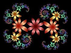 Fractals flowers