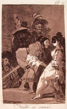 """""""Nadie se conoce"""" (""""Nobody Knows Himself"""") - Theaterliebe: Francisco de Goya - Los Caprichos 1"""