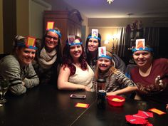 Playing Headbanz with my Neice's :)