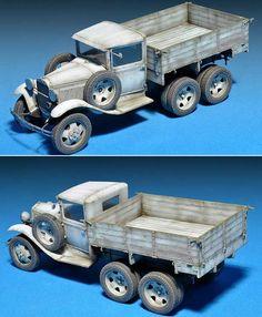 GAZ-AAA Model 1940 Cargo Truck Plastic Model Kit