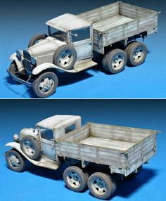 GAZ-AAA Model 1940 Cargo Truck Plastic Model Kit