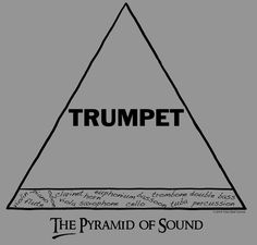 I can't tell you how many times my band director has told us trumpets to remember to have a balanced sound