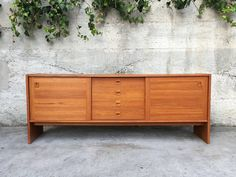 Danish Credenza Los Angeles : Sophisticated danish modern rosewood sideboard credenza with hutch
