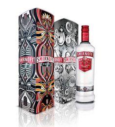 Love the Smirnoff Packaging, seems very traditional sri lankan artwork