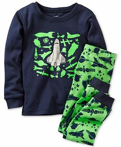 Carter's Baby Boys' 2-Piece Shirt & Pants Pajama Set