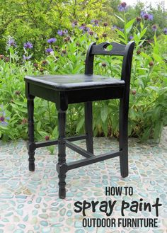 Paint wicker furniture craft ideas pinterest paint for How to paint rattan patio furniture