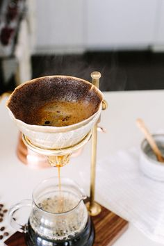 Mastering the Pour Over Brew via A House in the Hills