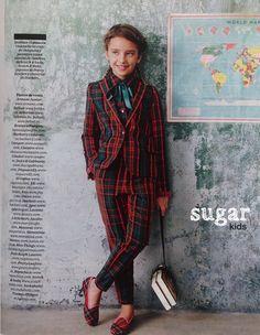 Violeta de Sugar Kids para El País Semanal