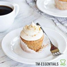 Thermomix® Banana and White Chocolate Cupcakes