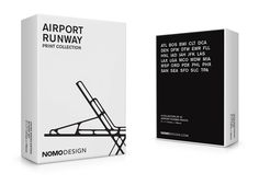 KickStarter Concept: Airport Runway Print Collection  via @thedieline