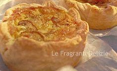 Sfogliatine salate ai Funghi e Formaggio | Le Fragranti Delizie