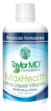 MaxHealth Ultra Liquid Vitamin™ is an all natural rich blend of vitamins, minerals, amino acids, antioxidants, omega fatty acids, probiotics, electrolytes, digestive enzymes and essential nutrients necessary to maintain optimal health. It contains plant-based phytonutrients, which may promote cell health and wellness.