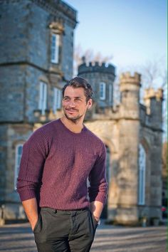 Prince charming vibes 🏰  David Gandy x @johnniewalker