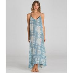 BILLABONG COVER UPS SALTY SUNSET MAXI DRESS