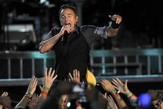 Bruce Springsteen & the E Street Band perform at Wrigley Field.