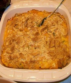 Here we have what is the World's Best Squash Casserole. If your looking for the best squash casserole in the world then here is the recipe for the world's best squash casserole. I hope you make it. Easy Squash Casserole, Southern Squash Casserole, Yellow Squash Casserole, Vegetable Casserole, Casserole Recipes, Squash Cassarole, The Best Squash Casserole Recipe, Paula Deen Squash Casserole, Zucchini Casserole