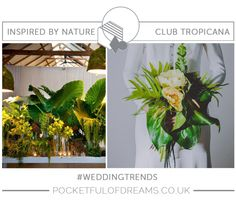 Inspiration and ideas for weddings inspired by nature...