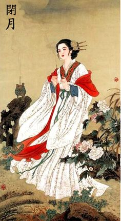 Diaochan (3rd century AD) One of the Four Great Beauties of Ancient China + Drama Adaptions