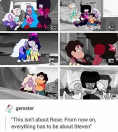 Awww.. \\\: lowkey their world is colorless/meaningless with out Steven???? ie: Rose WAS their lifeand now Steven IS