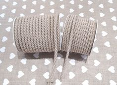 Cordino intrecciato decorazione corda naturale rifinitura borse | eBay