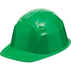 Green Construction Hat - Party City