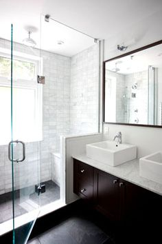 small bathroom ideas I don't like the sink but love everything else!