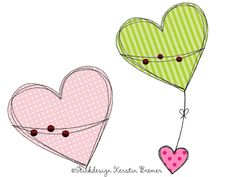 Doodle hearts appliqué embroidery designs for embroidery machines. You are in the right place about machine embroidery Here we offer you the most beautiful pictures abo Best Embroidery Machine, Freehand Machine Embroidery, Machine Quilting Patterns, Free Motion Embroidery, Applique Embroidery Designs, Free Motion Quilting, Quilt Patterns, Embroidery Machines, Design Set