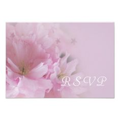 This DealsLovely pink cherry blossom spring wedding RSVP Personalized Invitationsonline after you search a lot for where to buy