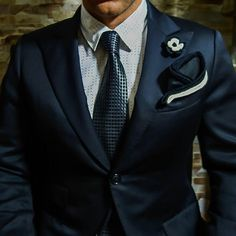 New Design combined with Sebastian Cruz Couture Two tone lapel flower button. Be Bold!