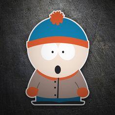 Pegatinas: Stan South Park #friki #TeleAdhesivo