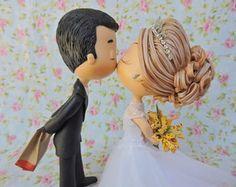 topo de bolo casamento MC