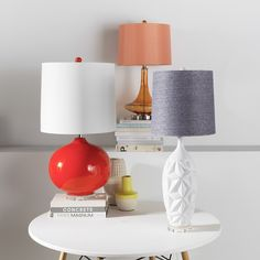 Need a little light in your life? Surya now has over 290 lamps to choose from- varying in color, style, shape and material!