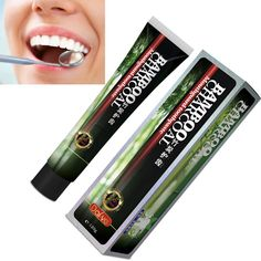 Bamboo Toothpaste Charcoal Teeth Whitening Black Toothpaste Charcoal Toothpaste Clareador Dental Oral Hygiene Newest