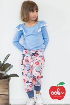 e37d1ce41f9d6 Slouchy Pants Copenhagen Retro Pink | Winter Clothes for Girls | Oobi Girls  Kid Fashion