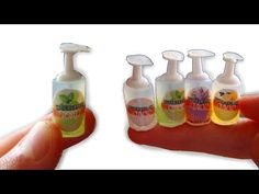 DIY Miniature Liquid Soap Dispenser - YouTube
